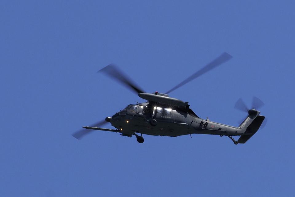 違いがわかる男さんの航空自衛隊 Mitsubishi UH-60J (88-4605) 航空フォト