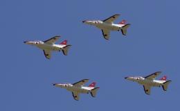 違いがわかる男さんが、防府北基地で撮影した航空自衛隊 T-4の航空フォト(飛行機 写真・画像)