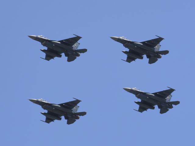 違いがわかる男さんが、防府北基地で撮影した航空自衛隊 F-2Aの航空フォト(飛行機 写真・画像)