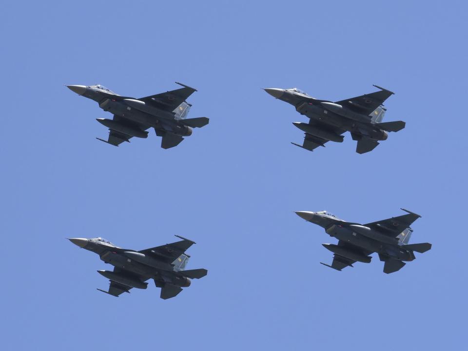 違いがわかる男さんの航空自衛隊 Mitsubishi F-2A (93-8545) 航空フォト