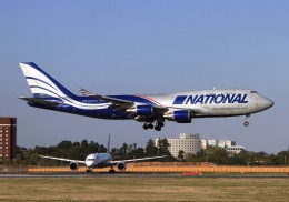 LOTUSさんが、成田国際空港で撮影したナショナル・エアラインズ 747-428(BCF)の航空フォト(飛行機 写真・画像)