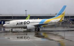 CL&CLさんが、中部国際空港で撮影したAIR DO 737-781の航空フォト(飛行機 写真・画像)
