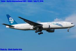 Chofu Spotter Ariaさんが、成田国際空港で撮影したニュージーランド航空 777-219/ERの航空フォト(飛行機 写真・画像)