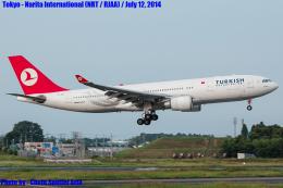 Chofu Spotter Ariaさんが、成田国際空港で撮影したターキッシュ・エアラインズ A330-203の航空フォト(飛行機 写真・画像)