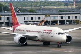 DVDさんが、成田国際空港で撮影したエア・インディア 787-8 Dreamlinerの航空フォト(飛行機 写真・画像)