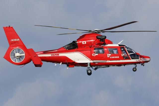 Wings Flapさんが、名古屋飛行場で撮影した名古屋市消防航空隊 AS365N3 Dauphin 2の航空フォト(飛行機 写真・画像)