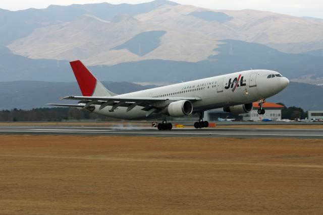 tsubameさんが、熊本空港で撮影した日本航空 A300B4-622Rの航空フォト(飛行機 写真・画像)