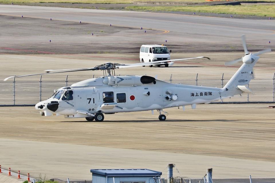 Wings Flapさんの海上自衛隊 Mitsubishi SH-60K (8471) 航空フォト