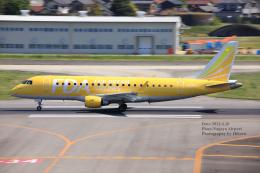 hikaruphotographさんが、名古屋飛行場で撮影したフジドリームエアラインズ ERJ-170-200 (ERJ-175STD)の航空フォト(飛行機 写真・画像)
