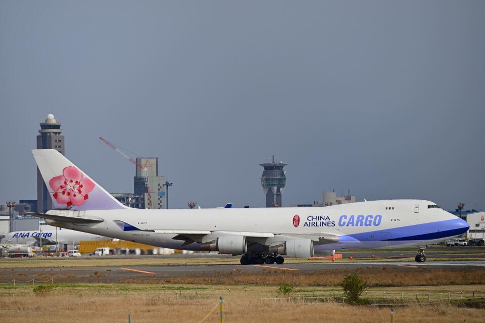 シグナス021さんのチャイナエアライン Boeing 747-400 (B-18717) 航空フォト