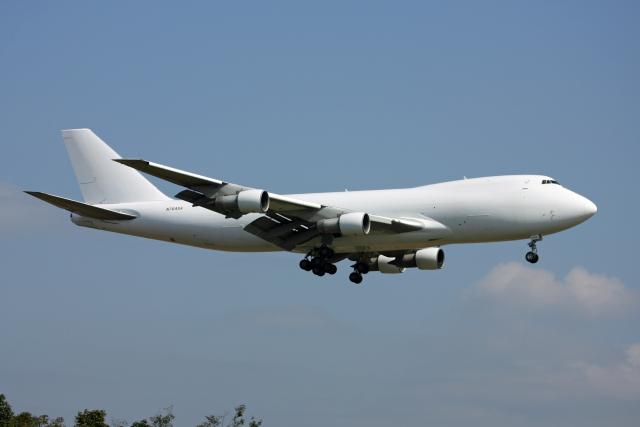 tsubameさんが、福岡空港で撮影したサザン・エア 747-2B5F/SCDの航空フォト(飛行機 写真・画像)