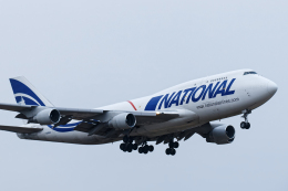 SGR RT 改さんが、成田国際空港で撮影したナショナル・エアラインズ 747-412(BCF)の航空フォト(飛行機 写真・画像)