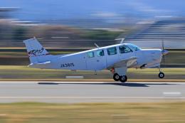 Nao0407さんが、松本空港で撮影した日本個人所有 A36 Bonanza 36の航空フォト(飛行機 写真・画像)