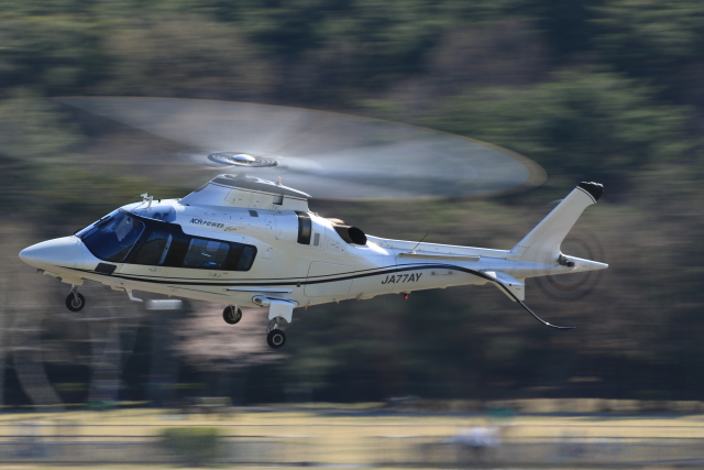 Nao0407さんが、松本空港で撮影した日本法人所有 A109E Powerの航空フォト(飛行機 写真・画像)