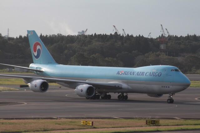 Mr.boneさんが、成田国際空港で撮影した大韓航空 747-8B5F/SCDの航空フォト(飛行機 写真・画像)