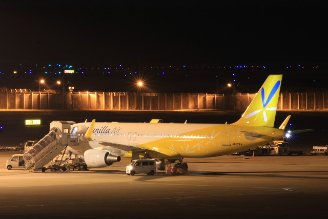 S.Hayashiさんが、成田国際空港で撮影したバニラエア A320-214の航空フォト(飛行機 写真・画像)