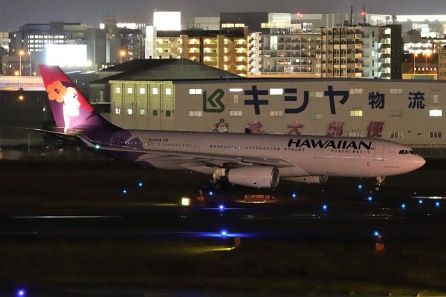 kan787allさんが、福岡空港で撮影したハワイアン航空 A330-243の航空フォト(飛行機 写真・画像)