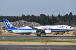 航空フォト:JA883A 全日空 787-9