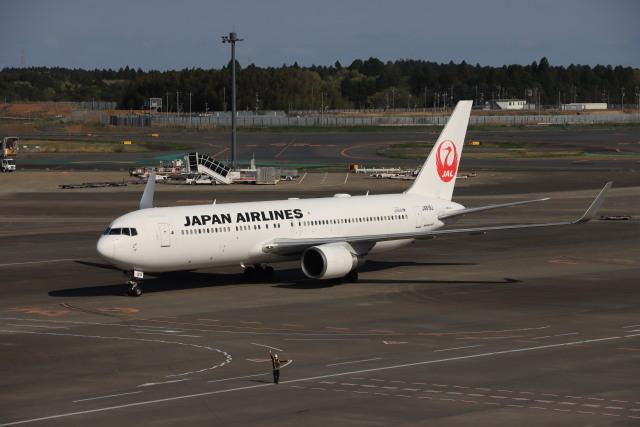 KOKI_ANA-Brussels767さんが、成田国際空港で撮影した日本航空 767-346/ERの航空フォト(飛行機 写真・画像)