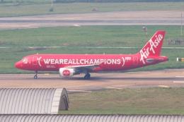 S.Hayashiさんが、タンソンニャット国際空港で撮影したエアアジア A320-216の航空フォト(飛行機 写真・画像)