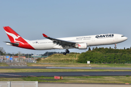 saoya_saodakeさんが、成田国際空港で撮影したカンタス航空 A330-303の航空フォト(飛行機 写真・画像)