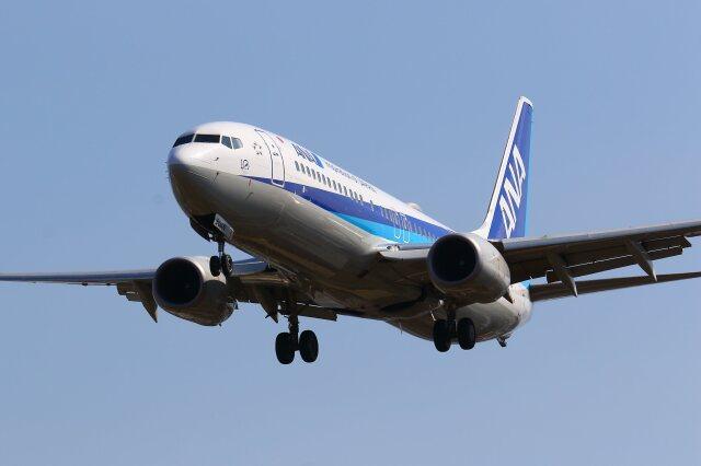 航空フォト:JA90AN 全日空