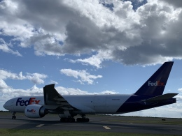 gratiii738さんが、ダニエル・K・イノウエ国際空港で撮影したフェデックス・エクスプレス 777-FHTの航空フォト(飛行機 写真・画像)