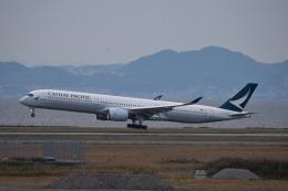 we love kixさんが、関西国際空港で撮影したキャセイパシフィック航空 A350-1041の航空フォト(飛行機 写真・画像)