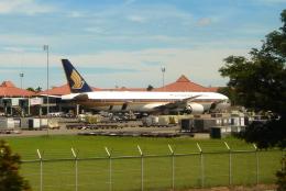 yabyanさんが、スカルノハッタ国際空港で撮影したシンガポール航空 777-312の航空フォト(飛行機 写真・画像)