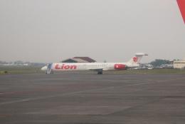 yabyanさんが、ジュアンダ国際空港で撮影したライオン・エア MD-90-30の航空フォト(飛行機 写真・画像)