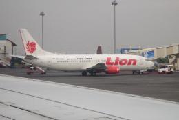 yabyanさんが、ジュアンダ国際空港で撮影したライオン・エア 737-4Y0の航空フォト(飛行機 写真・画像)