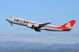 ITM58さんが、小松空港で撮影したカーゴルクス 747-8R7F/SCDの航空フォト(飛行機 写真・画像)
