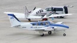 cathay451さんが、神戸空港で撮影した本田航空 58 Baronの航空フォト(飛行機 写真・画像)