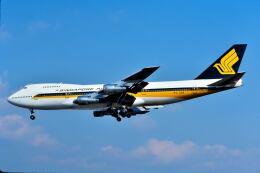 パール大山さんが、伊丹空港で撮影したシンガポール航空 747-212Bの航空フォト(飛行機 写真・画像)