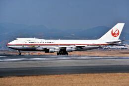 パール大山さんが、伊丹空港で撮影した日本航空 747SR-46の航空フォト(飛行機 写真・画像)