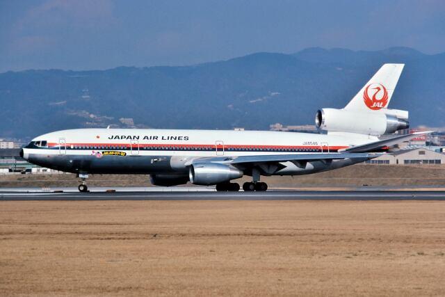 パール大山さんが、伊丹空港で撮影した日本航空 DC-10-40Dの航空フォト(飛行機 写真・画像)