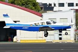 あきらっすさんが、調布飛行場で撮影した日本個人所有 PA-32R-301T Turbo Saratoga SPの航空フォト(飛行機 写真・画像)