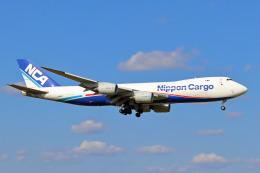szkkjさんが、成田国際空港で撮影した日本貨物航空 747-8KZF/SCDの航空フォト(飛行機 写真・画像)