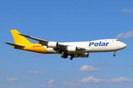 szkkjさんが、成田国際空港で撮影したポーラーエアカーゴ 747-87UF/SCDの航空フォト(飛行機 写真・画像)