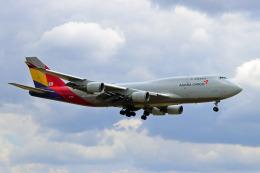 szkkjさんが、成田国際空港で撮影したアシアナ航空 747-48EM(BDSF)の航空フォト(飛行機 写真・画像)