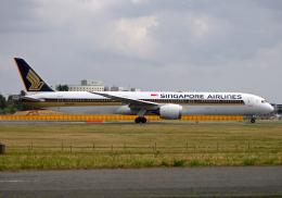 雲霧さんが、成田国際空港で撮影したシンガポール航空 787-10の航空フォト(飛行機 写真・画像)