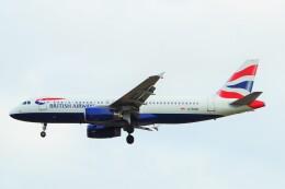 ちっとろむさんが、ロンドン・ヒースロー空港で撮影したブリティッシュ・エアウェイズ A320-232の航空フォト(飛行機 写真・画像)