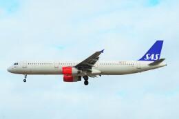 ちっとろむさんが、ロンドン・ヒースロー空港で撮影したスカンジナビア航空 A321-231の航空フォト(飛行機 写真・画像)