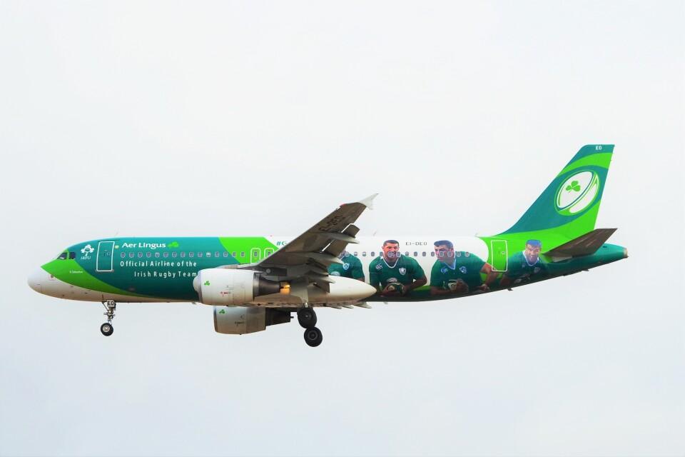 ちっとろむさんのエア・リンガス Airbus A320 (EI-DEO) 航空フォト