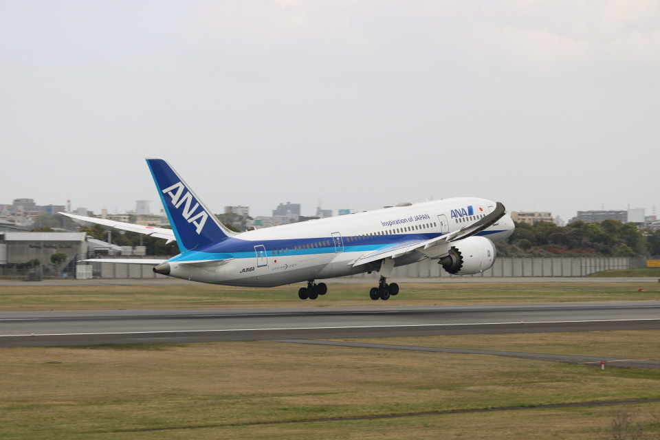 なかすぃ~さんの全日空 Boeing 787-8 Dreamliner (JA816A) 航空フォト