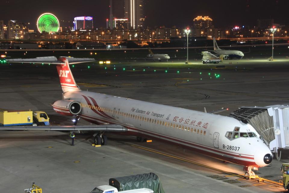 S.Hayashiさんの遠東航空 McDonnell Douglas MD-80 (DC-9-80) (B-28037) 航空フォト