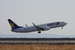 神宮寺ももさんが、神戸空港で撮影したスカイマーク 737-8ALの航空フォト(飛行機 写真・画像)