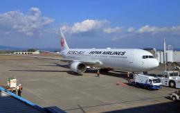 CL&CLさんが、鹿児島空港で撮影した日本航空 767-346/ERの航空フォト(飛行機 写真・画像)