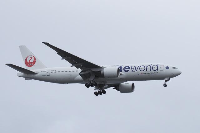 飛行機ゆうちゃんさんが、羽田空港で撮影した日本航空 777-246/ERの航空フォト(飛行機 写真・画像)