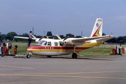 JAパイロットさんが、調布飛行場で撮影した共立航空撮影 680F Commanderの航空フォト(飛行機 写真・画像)